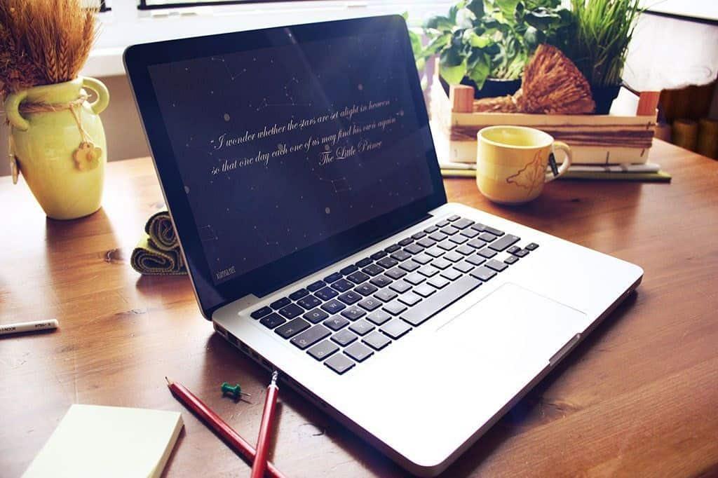 Fondo escritorio constelaciones