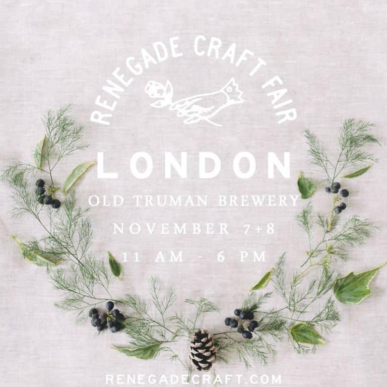 Renegade Craft Fair London
