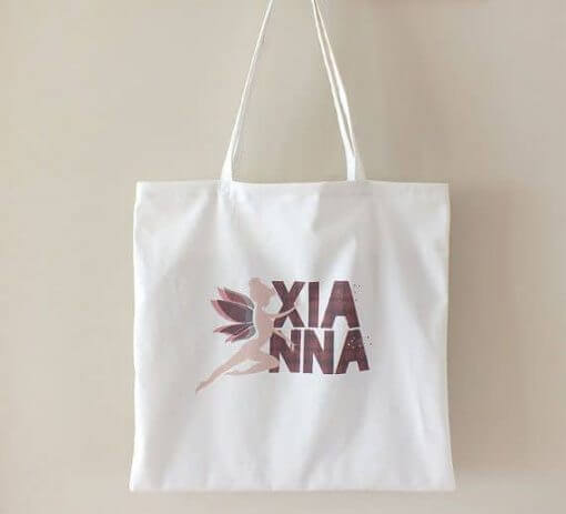 Organic cotton tote bag Xianna
