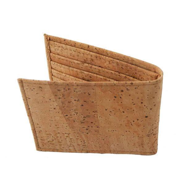 Cork bifold wallet