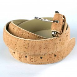 cinturon vegano de corcho