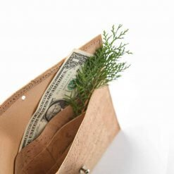 cartera de corcho natural ecologica minimalista