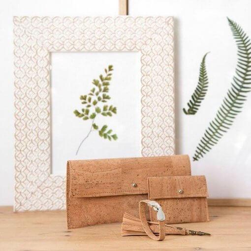 cartera de corcho natural ecologica minimalista coleccion