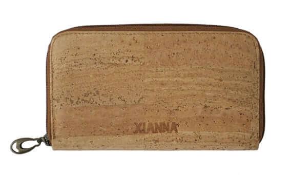 Cork wallet / cork clutch / zipper wallet