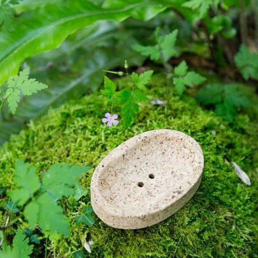 jabonera rustica corcho