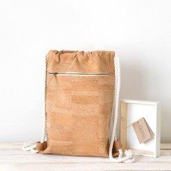mochila corcho natural