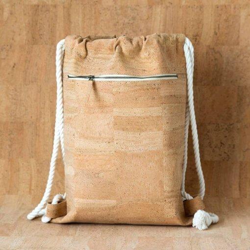 mochila corcho natural minimalista 9