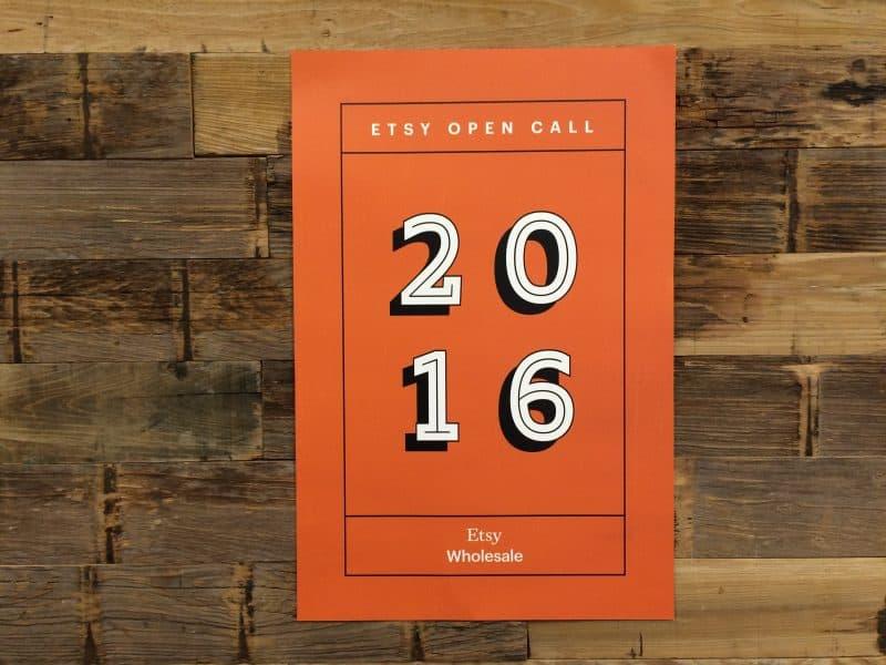 Etsy Open Call 2016