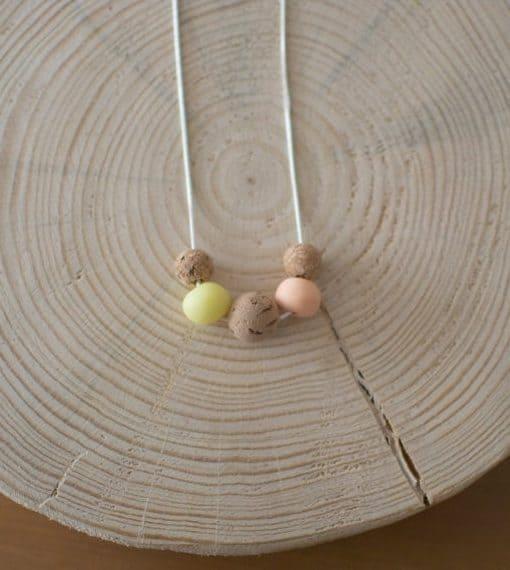 cork necklace
