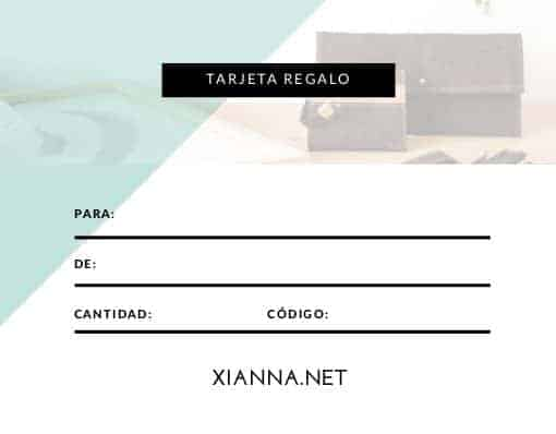 Cupon regalo Xianna