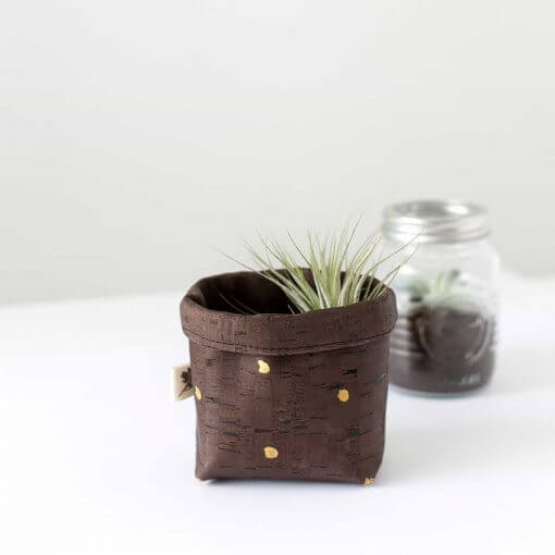 mini cork basket
