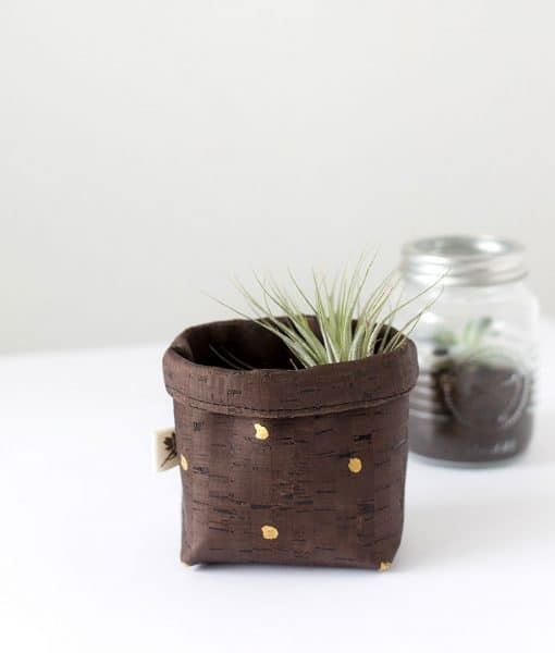 mini cork basket