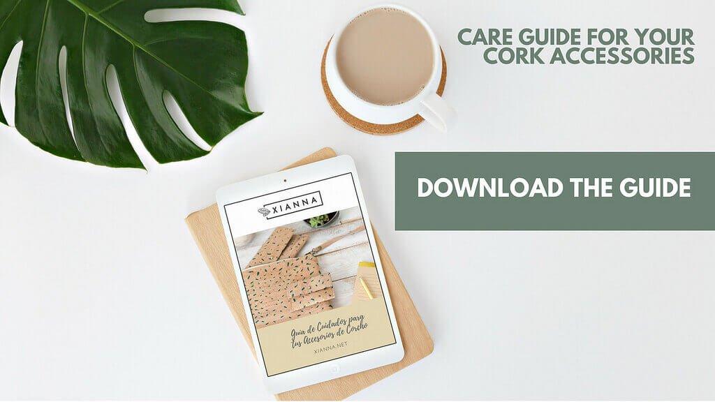 Care guide cork accessories
