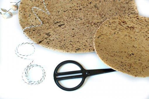 productos ecologicos juego bandejas corcho